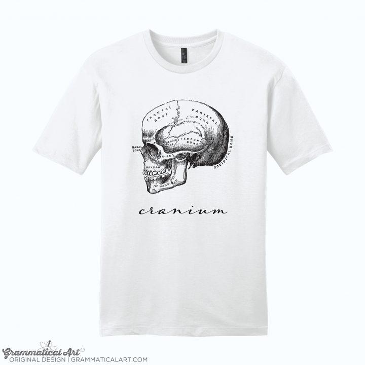 mens cranium white