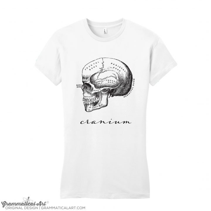 women's cranium white