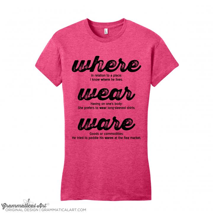 w wear pink