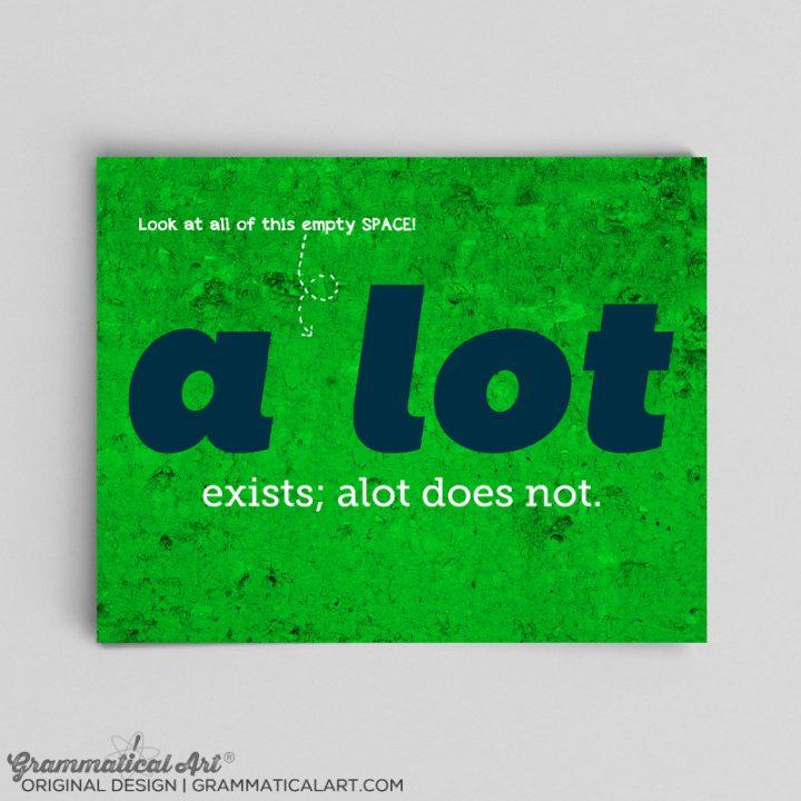 a lot