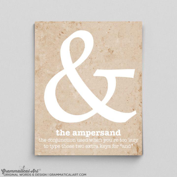 ampersand punc