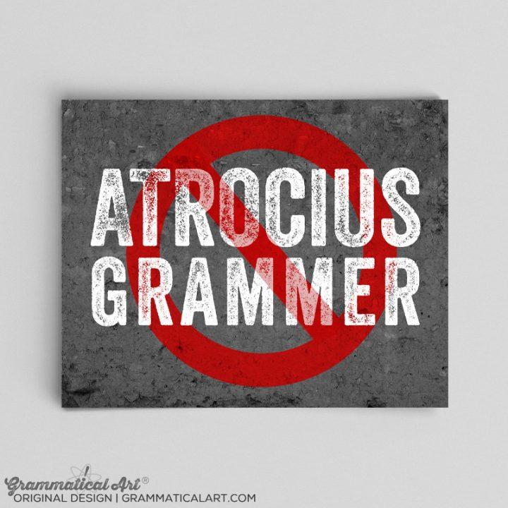 atrocius grammer