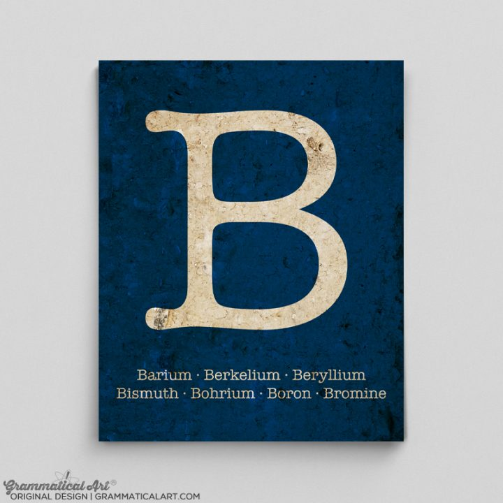 b elements