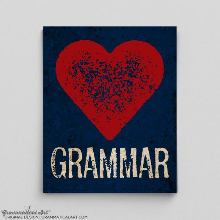 grammar heart