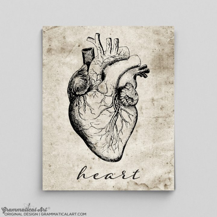 heart vintage