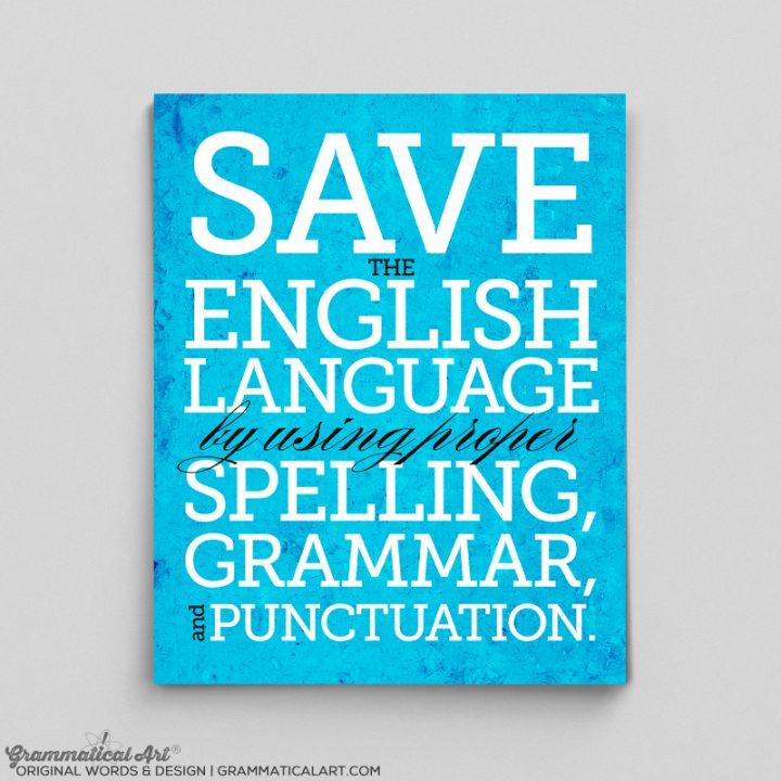 save english
