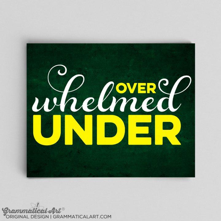 under over