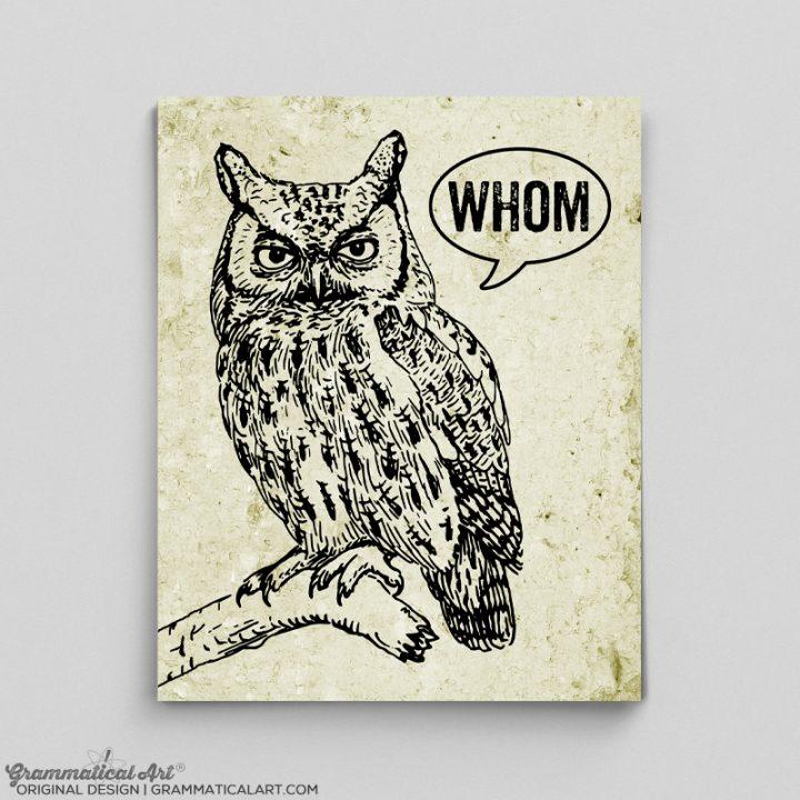 whom owl ad