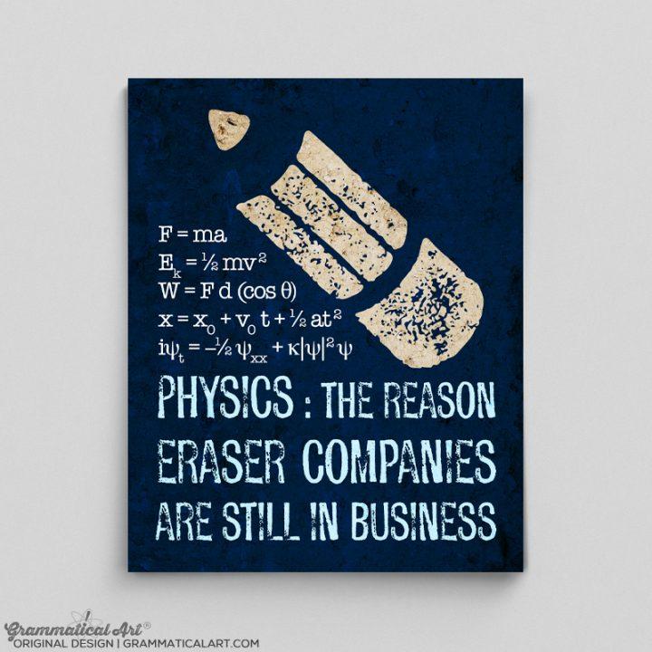 physics eraser