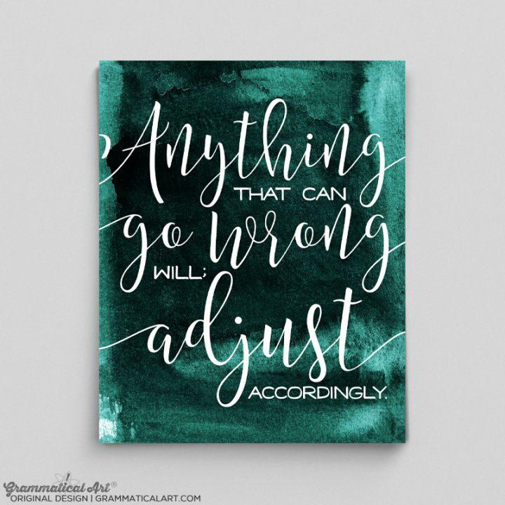 anything adjust
