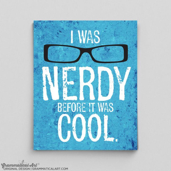 nerdy cool