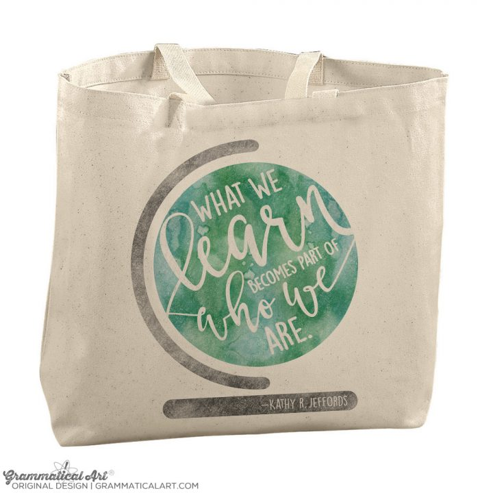 what we learn bag