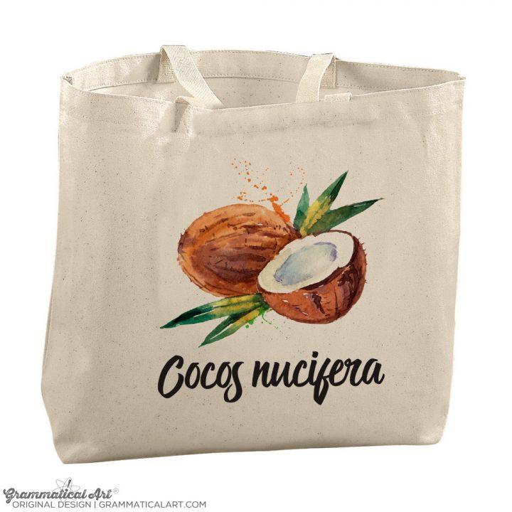 coconut tote