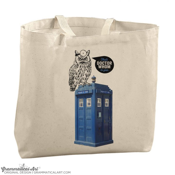 dr whom tote