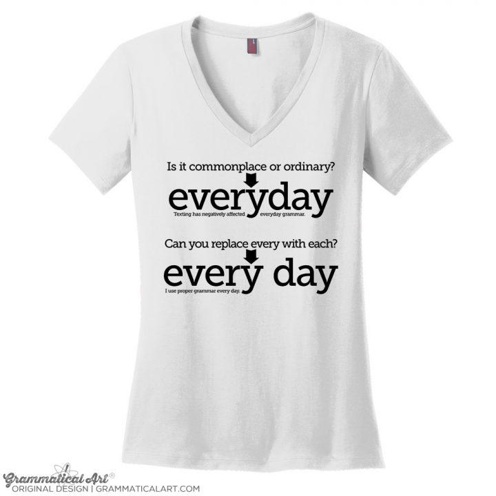 everyday FIXED white