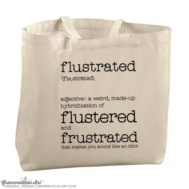 flustrated tote