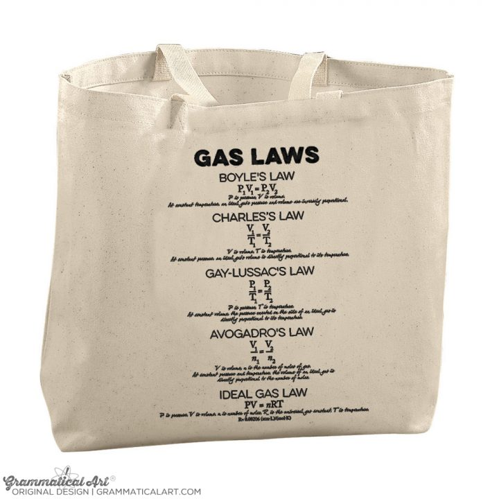 gas laws tote