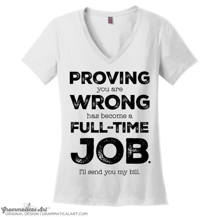 job v neck white