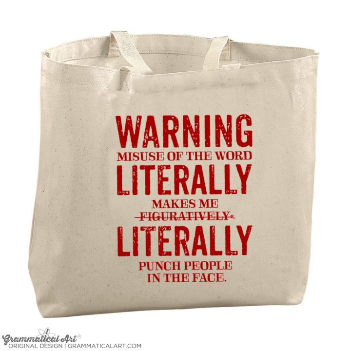 literally tote