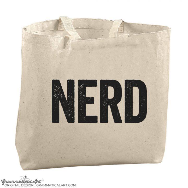 nerd tote