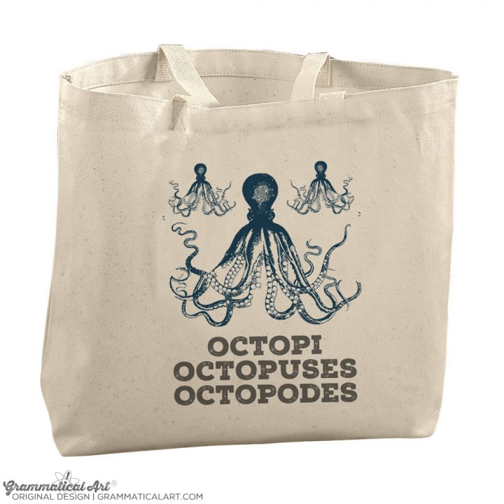 octopi tote