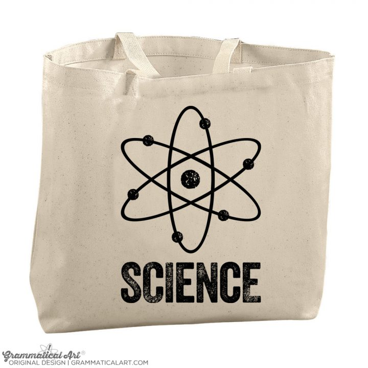 science tote