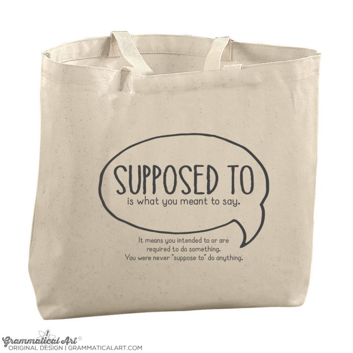 supposed tote