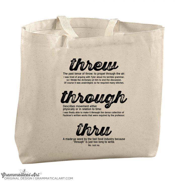 threw tote