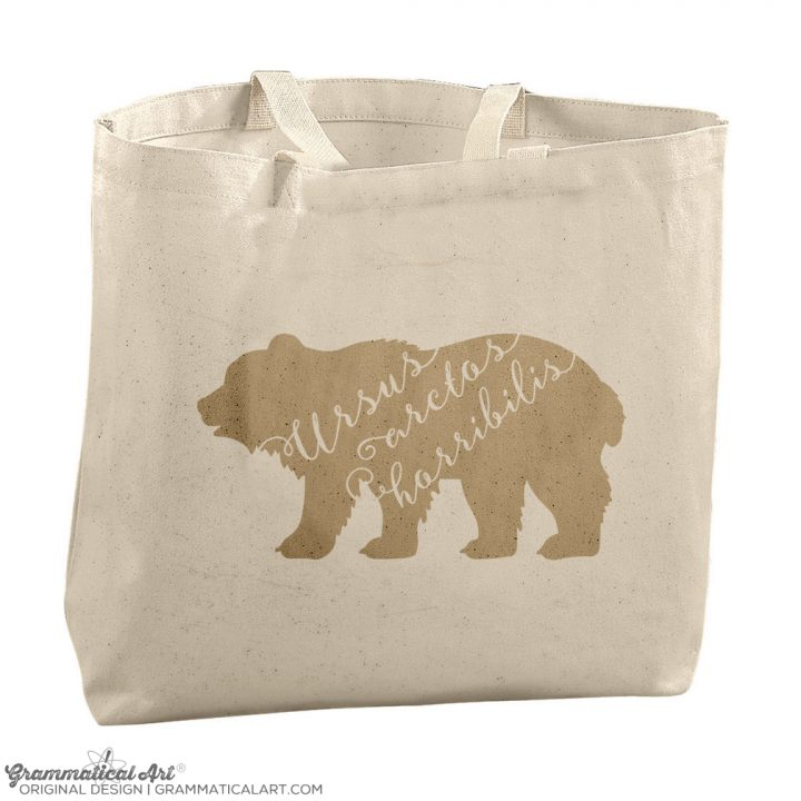 ursus bear tote