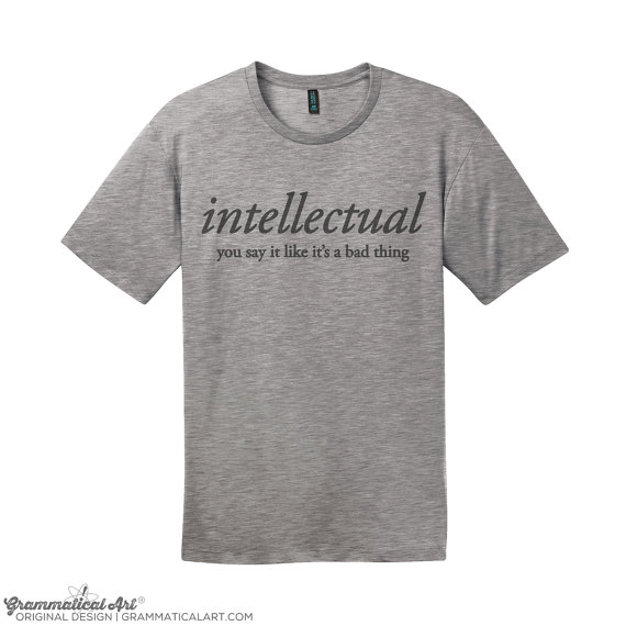 intellectual shirt