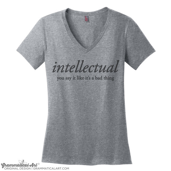 intellectual v-neck