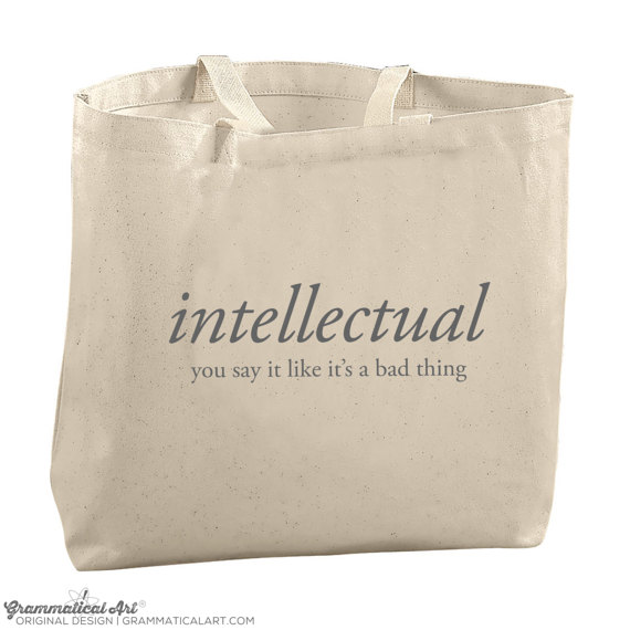 intellectual tote