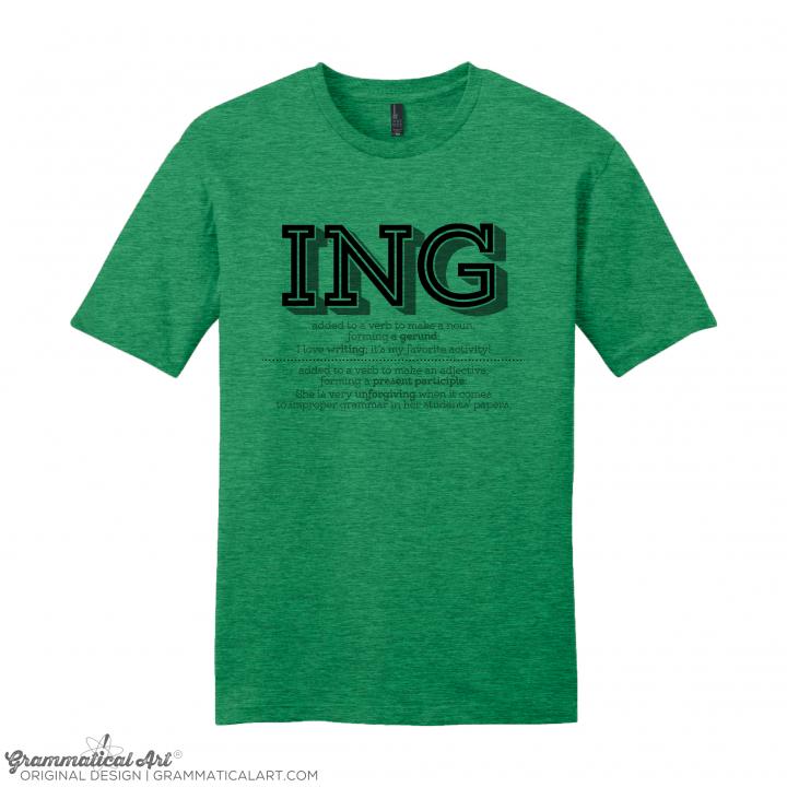 m gerund green