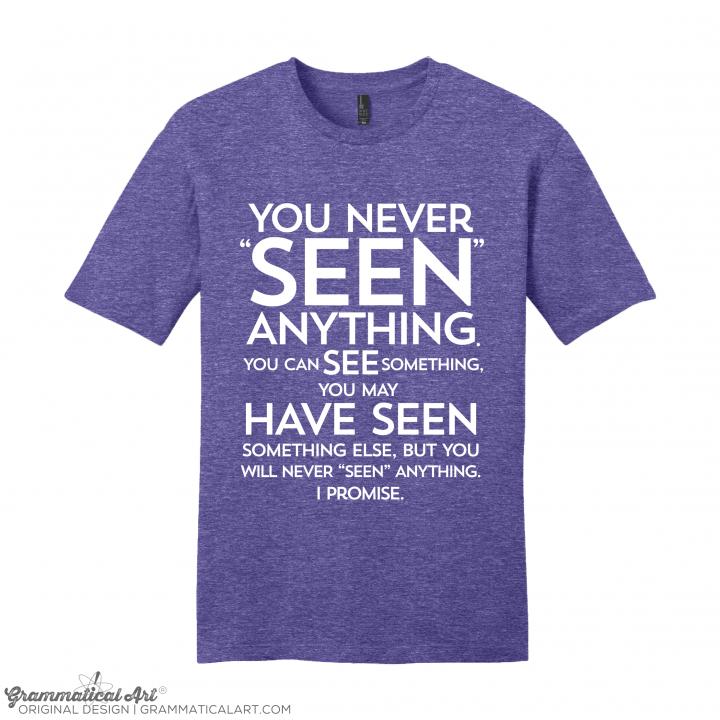 m seen purple