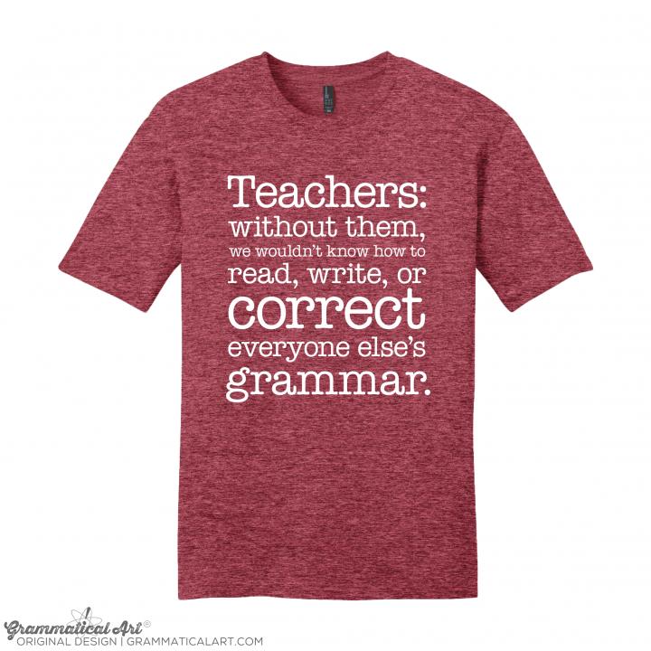 m teachers red