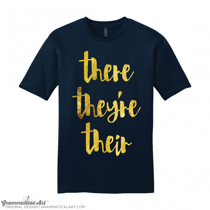 m there GOLD navy