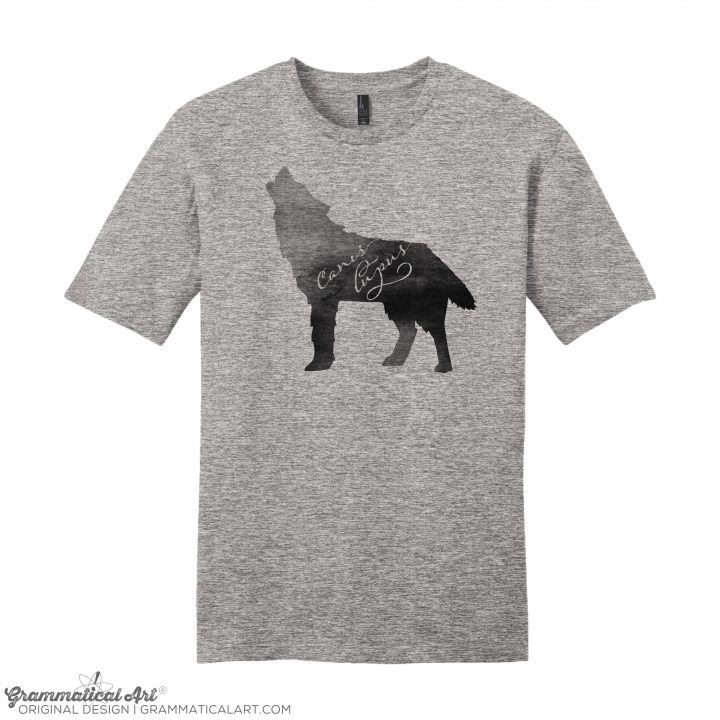 mens canis gray
