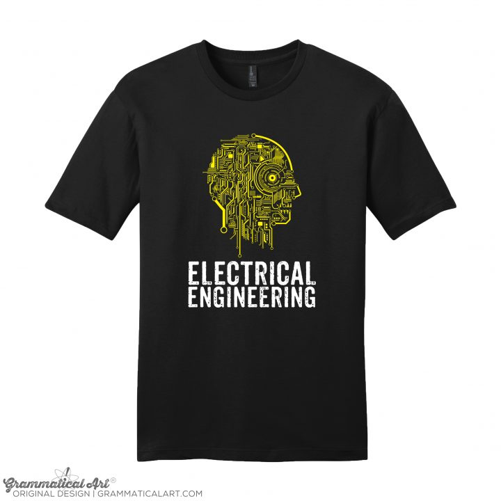 mens electrical black