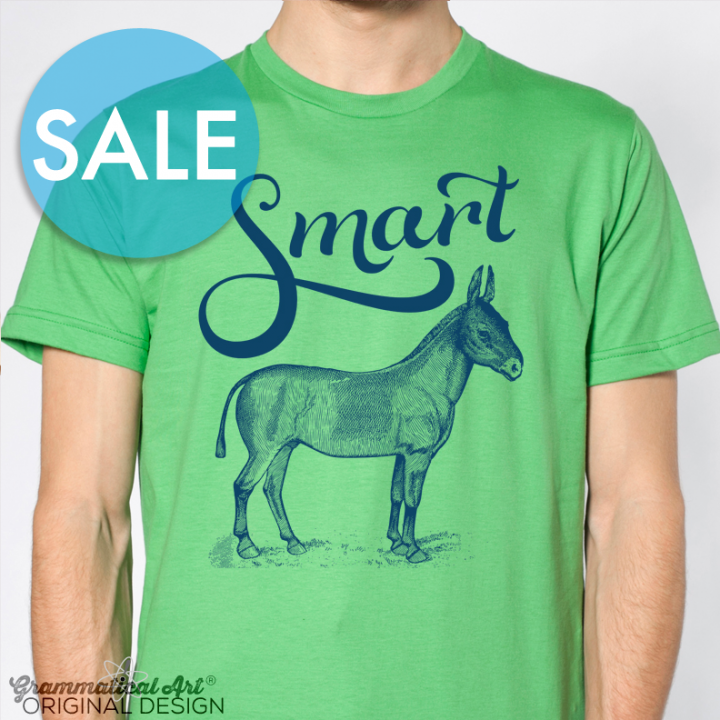 sale smart ass shirt