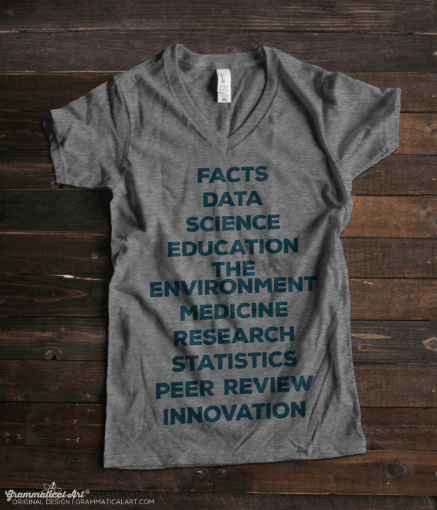 science march v neck new