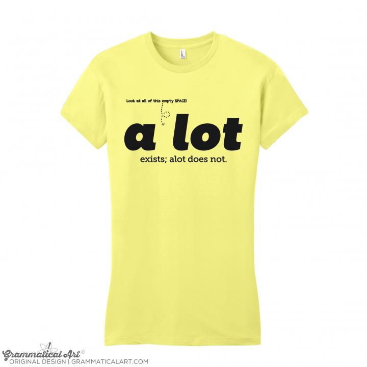 w a lot yellow