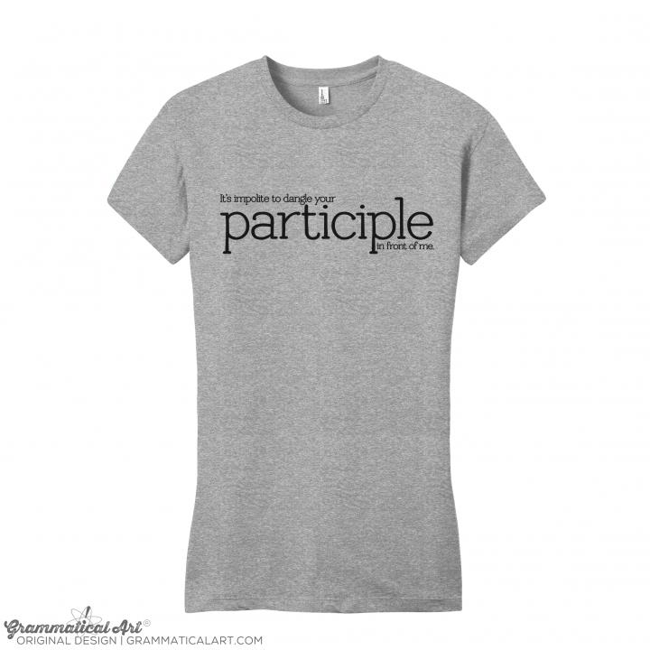 w participle gray