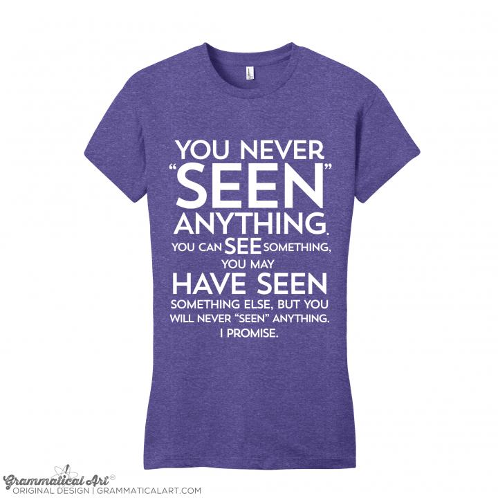 w seen purple