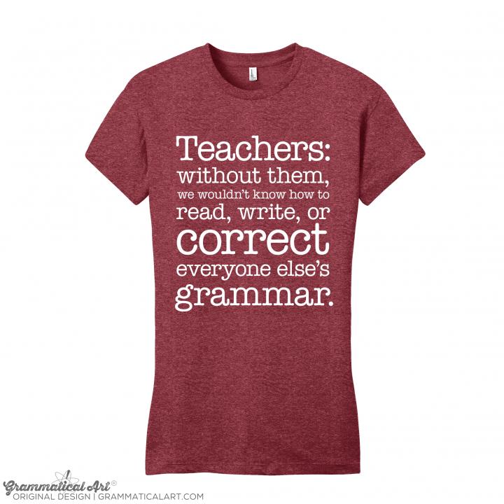 w teachers red
