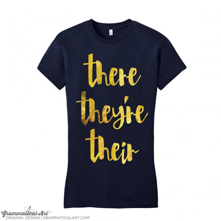 w there GOLD navy