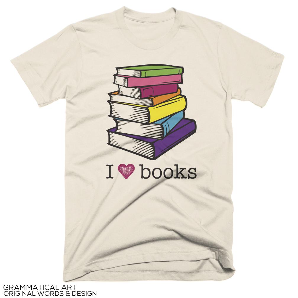 Grammatical Books Lover Sale ShirtBook Art Love XZiuPkwlTO