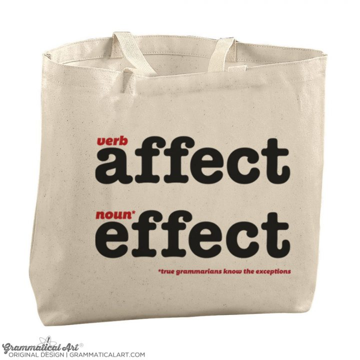 affect tote