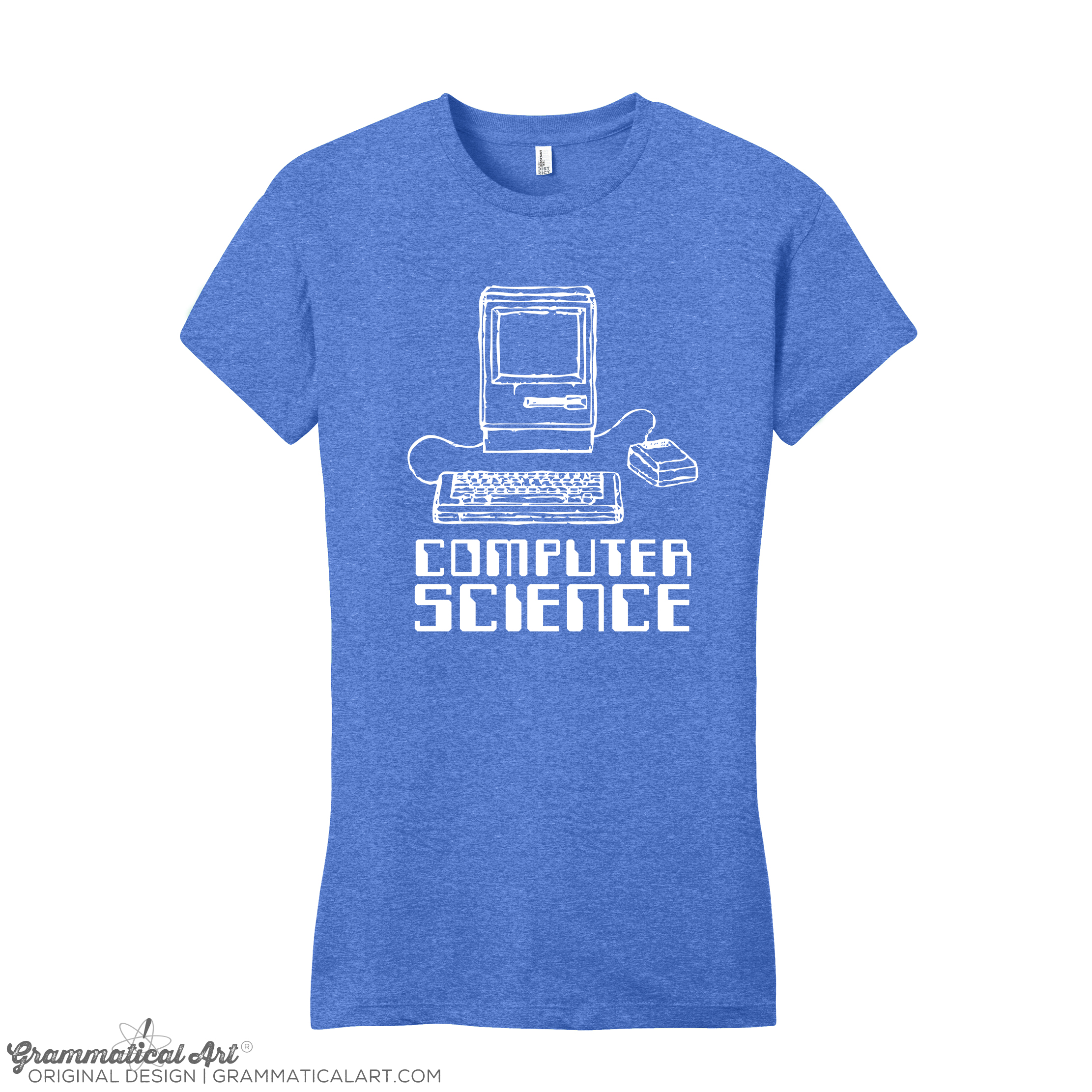 Women S Computer Science Shirt Grammatical Art