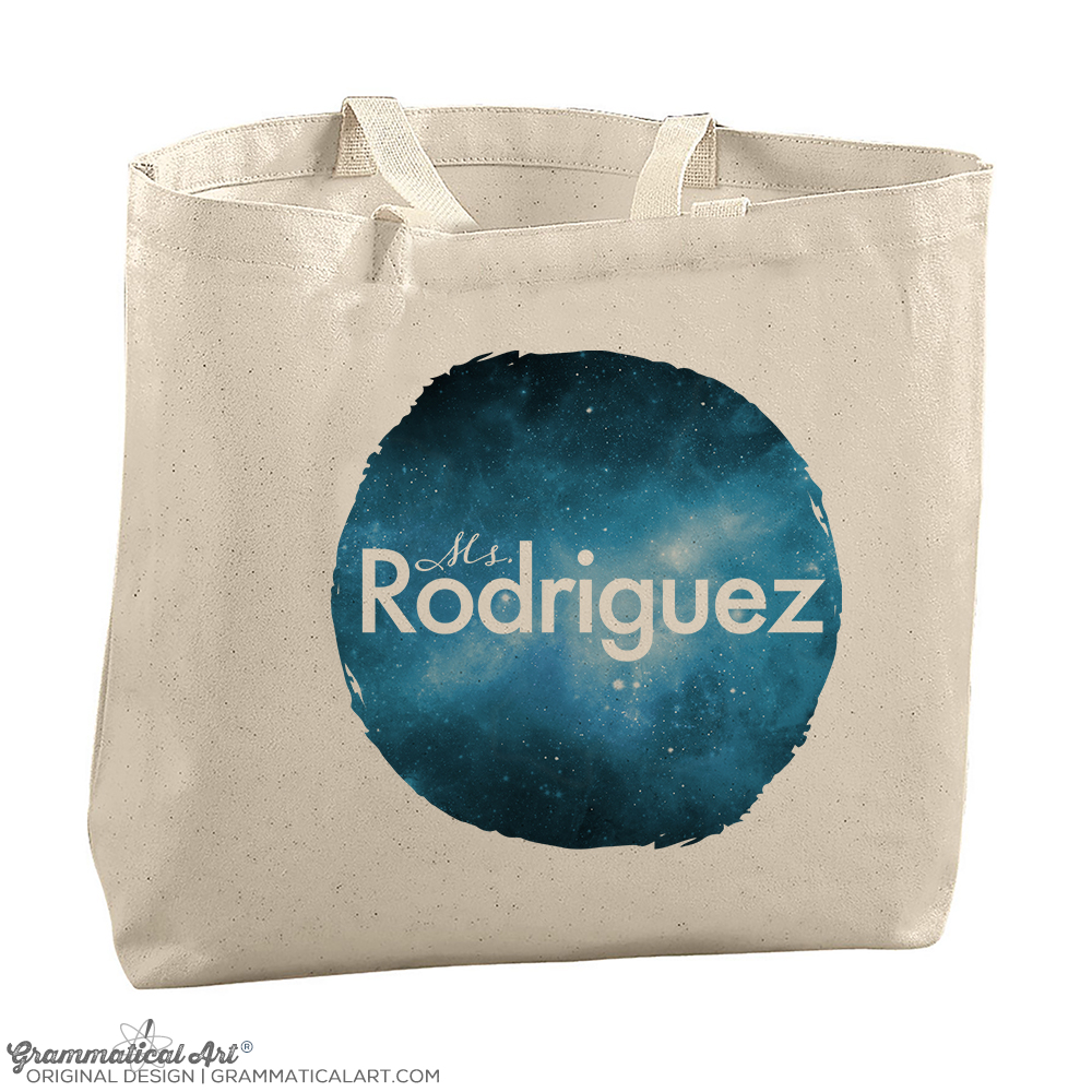 Personalized Tote Bag Galaxy Edition